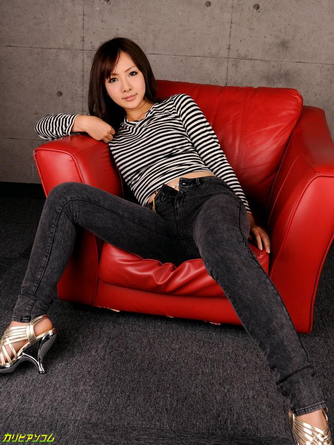 【ヌード画像】AV女優さんのジーンズ姿はとてつもなくセクシーに見えるw(32枚) 13