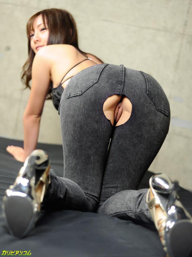 【ヌード画像】AV女優さんのジーンズ姿はとてつもなくセクシーに見えるw(32枚) 17