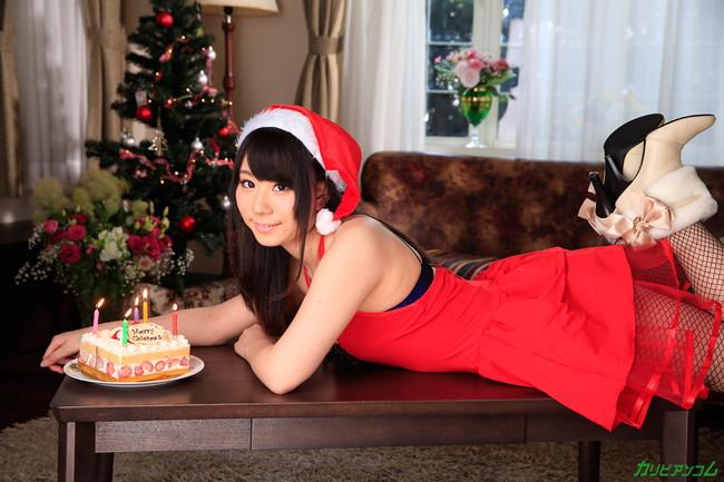 【ヌード画像】サンタ美女のエロ画像は見ていると癒されるw(33枚) 03