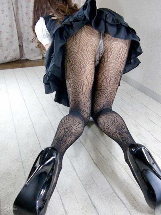【ヌード画像】黒ストッキングの野郎からの好感度はハンパない黒ストッキングのエローい画像を集めました!(50枚) 27