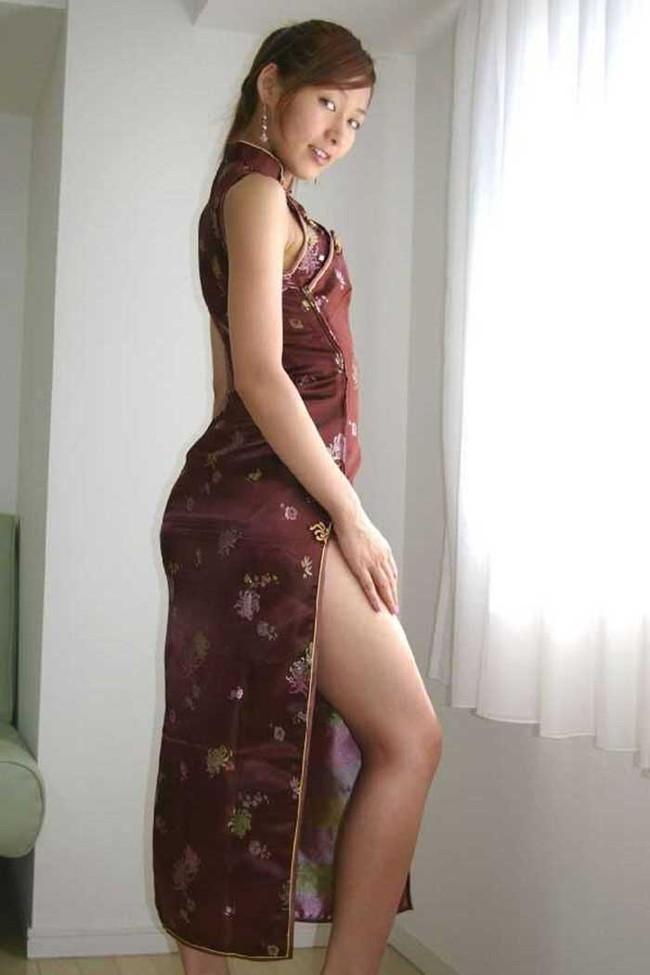 【ヌード画像】チャイナドレスってきらいな野郎はいないよな!スリットとパツパツ具合にコーフンするチャイナドレス画像集(50枚) 33