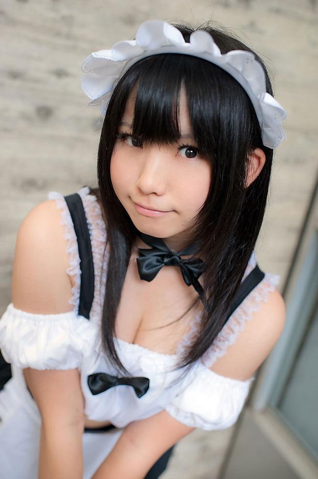 【ヌード画像】萌えるメイドさんのエロ可愛いセミヌード画像(30枚) 26