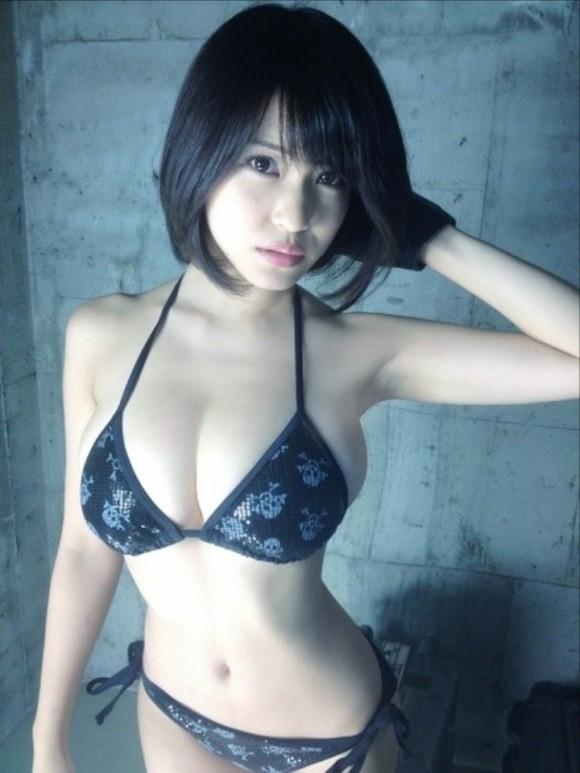 【ヌード画像】はんなりGカップこと岸明日香の90cmバスト画像(32枚) 10