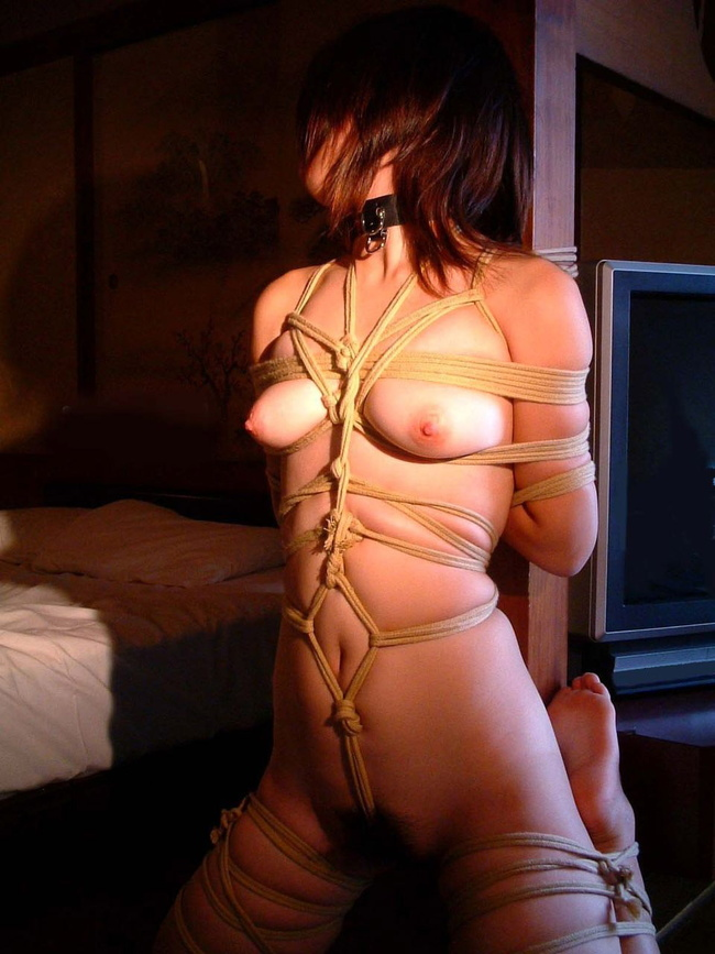 【ヌード画像】全裸で首輪されている雌犬M奴隷画像まとめ(30枚) 14