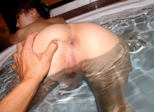 【ヌード画像】風呂で四つん這いになった例の美尻ポーズ(30枚) 13