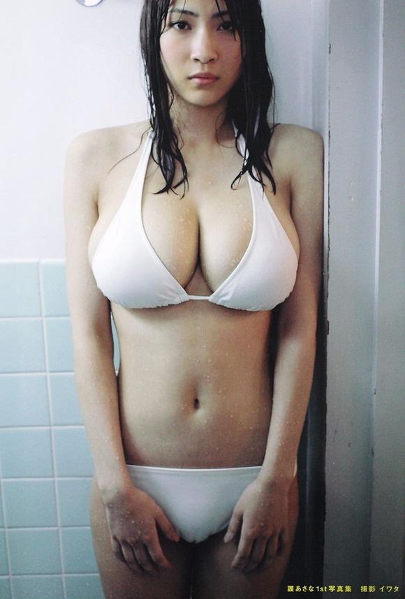 【ヌード画像】よろず巨乳グラドルの水着谷間画像(30枚) 03