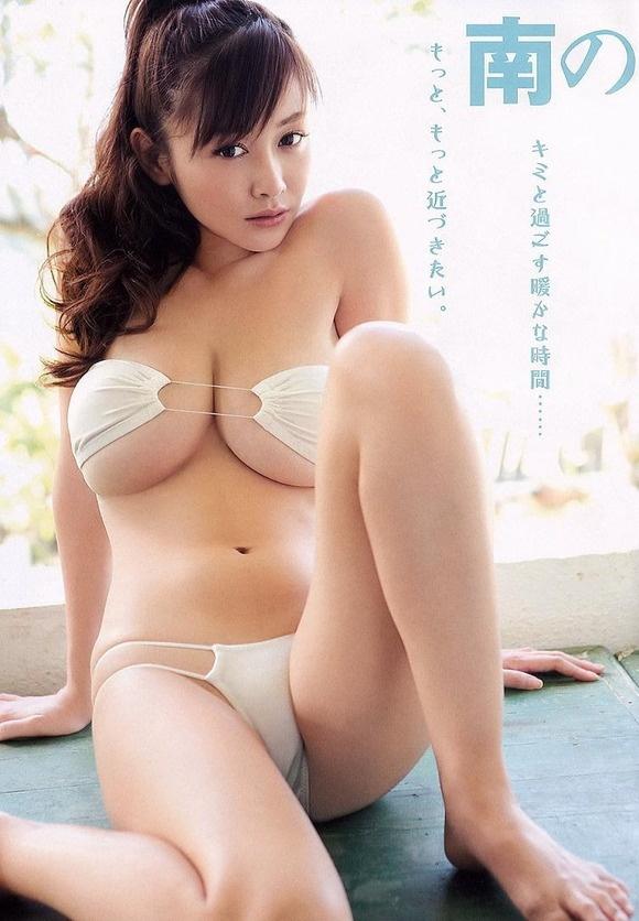 【ヌード画像】よろず巨乳グラドルの水着谷間画像(30枚) 18