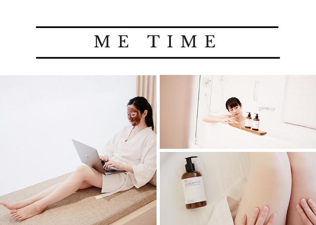 生活:: 如何與自己獨處? 享受保養的Me Time