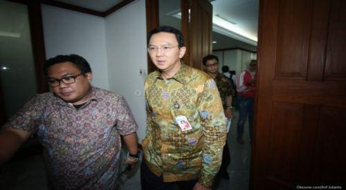 Gubernur DKI Jakarta, Basuki T Purnama (Ahok) (foto: Okezone)