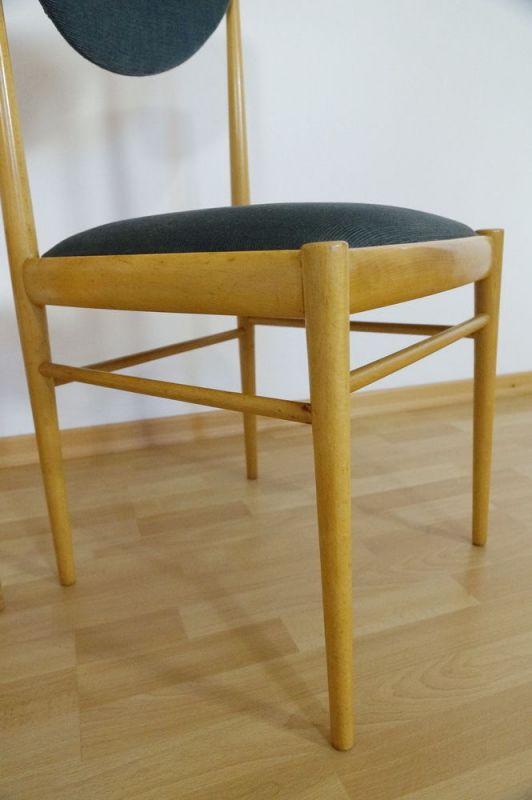 Schön 2x Polsterstuhl Esszimmer Stuhl Buche Danish Design Vintage Esszimmer  70er