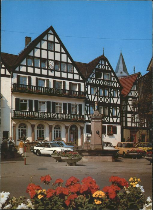 Weisses Ross Bad Orb Bad Orb Bad Orb Marktplatz Hotel Weisses Ross * / Bad Orb