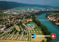 AK / Ansichtskarte Bad_Zurzach Schwimmbad Camping Oberfeld ...