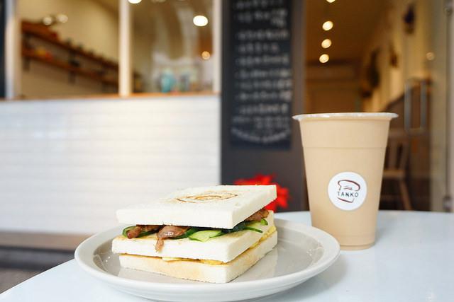 """【高雄新興早午餐】TANKO 炭烤三明治    捷運信義國小站""""創意碳烤三明治"""