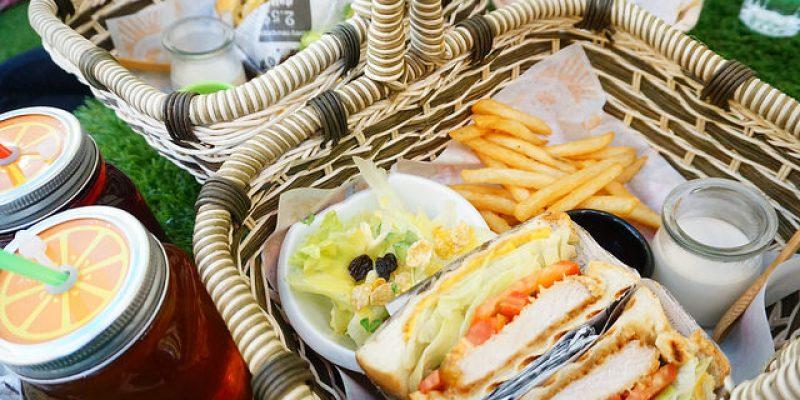 """【新北新莊早午餐】曲尼的公園 picnic  *♥新莊新開幕早午餐""""下雨天也可以室內野餐"""