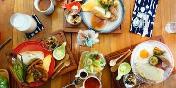 """【高雄左營美食】樓上。餐桌    捷運凹子底站""""有溫度的早午餐"""