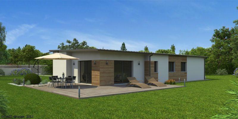 Architecture - 3D - Maison - Bois - Extérieur Tiny homes - la maison de l artisan