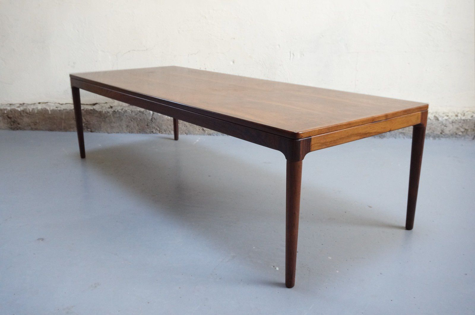 Grande Table Scandinave Table Basse Scandinave Palissandre De Rio Salon Design Années 60