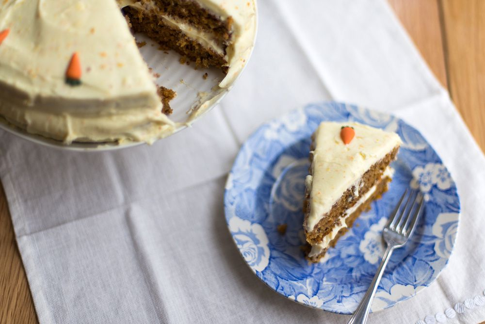 Carrot and Walnut Cake
