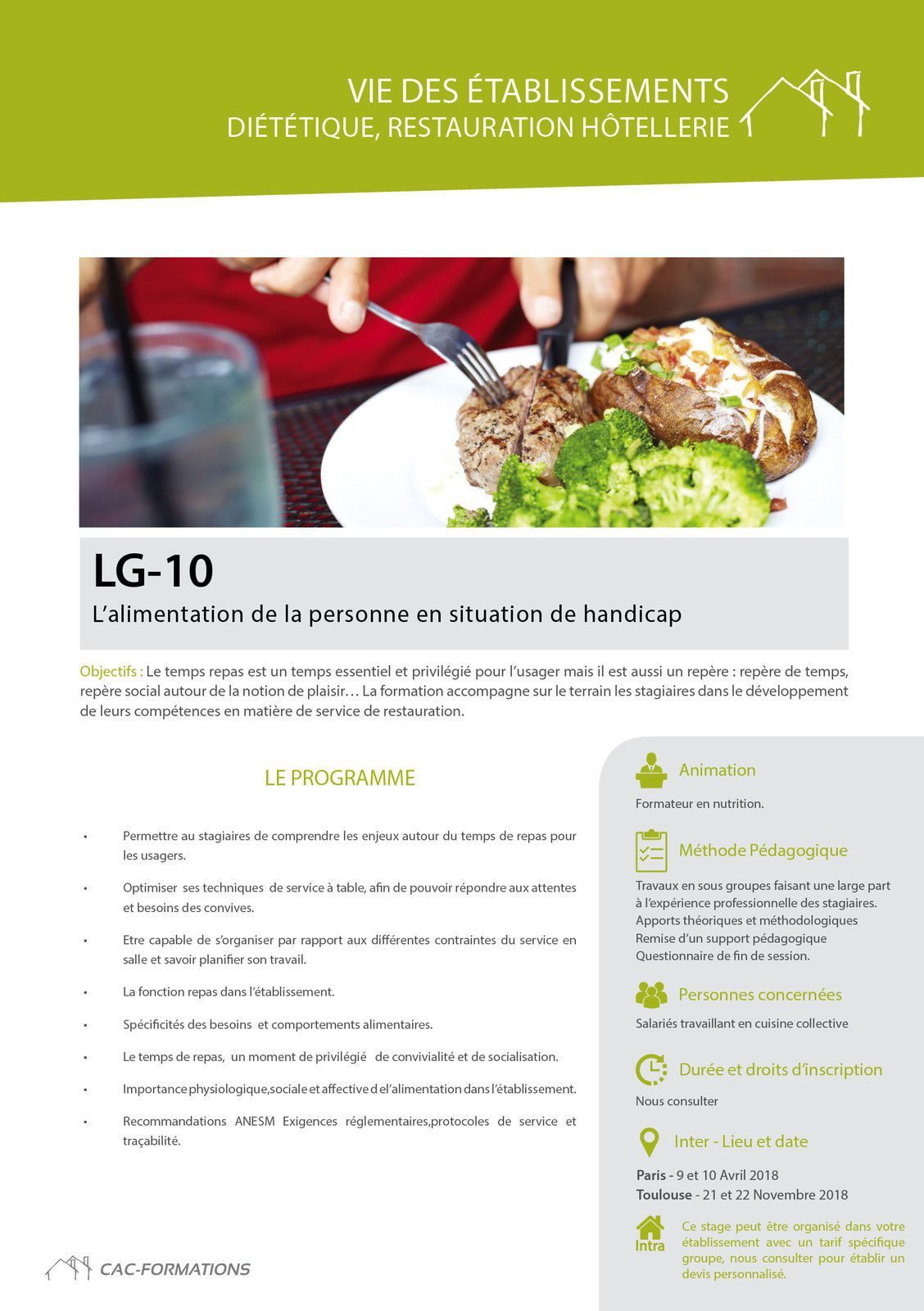 Formation Cuisine Collective Qualité En Restauration Collective Un Besoin Accru De