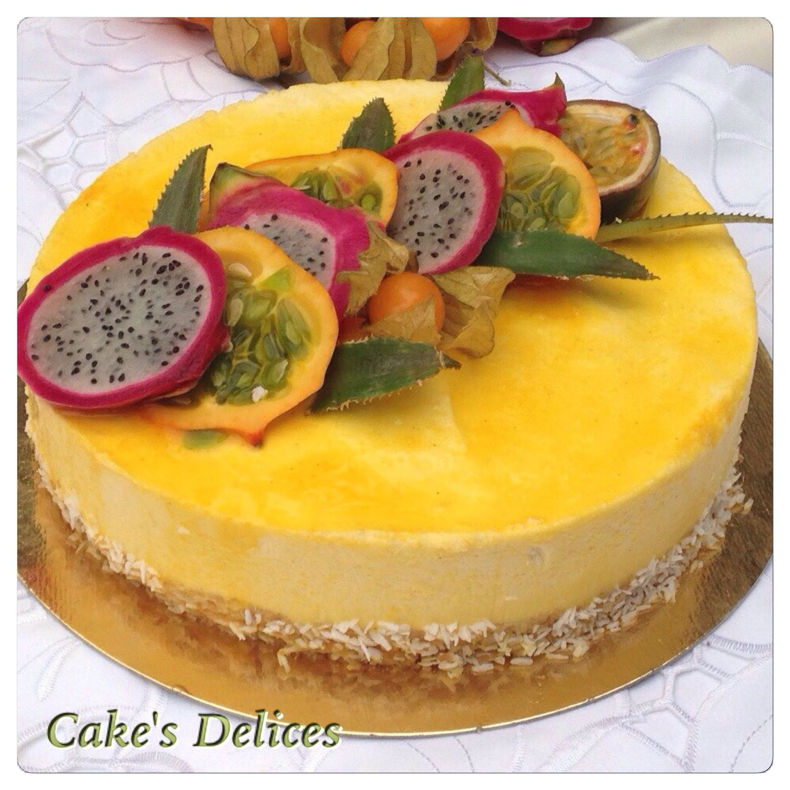 Idee Gateau Patissier Entremets Exotique Dessert Ideas En 2019 Patisserie