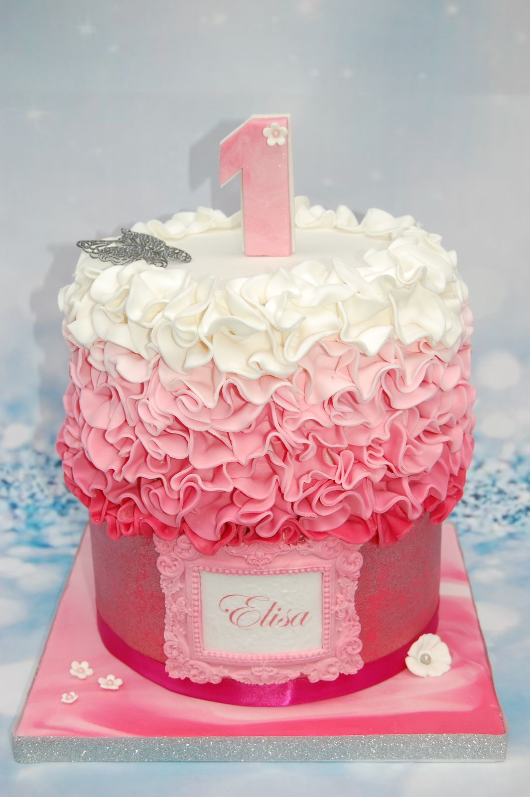 Decoration Anniversaire Girly Gateau D 39anniversaire Tres Girly Aacook