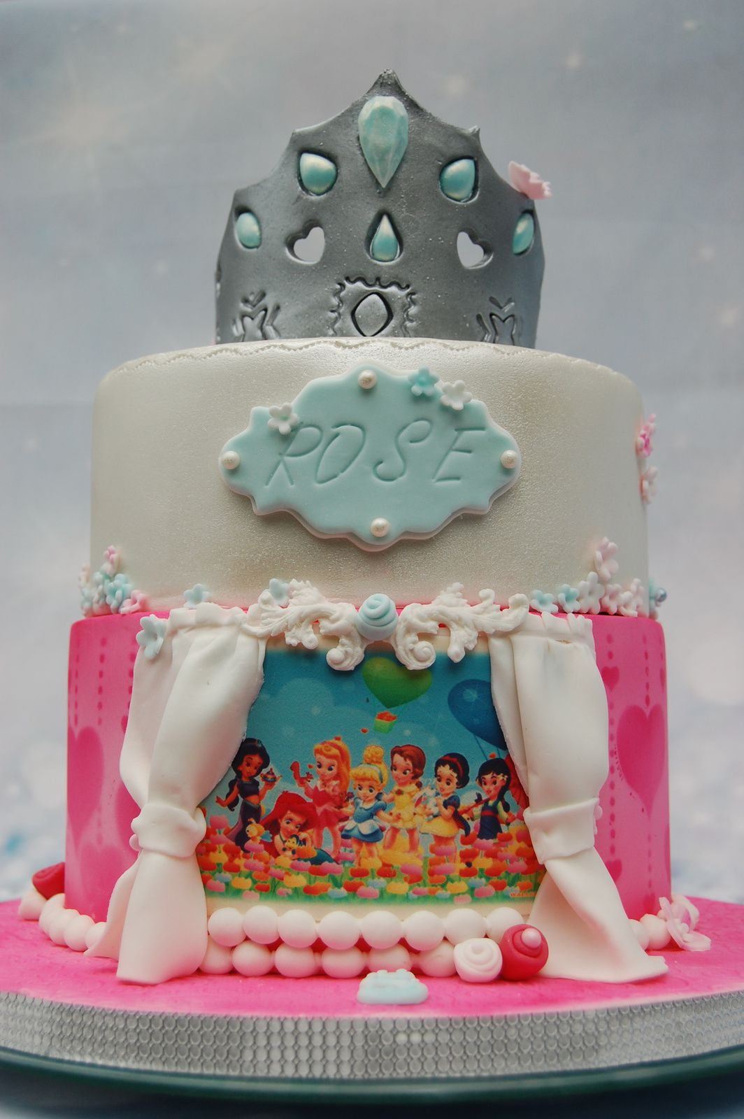 Gateau De Princesse Gateau Princesses Disney Aacook