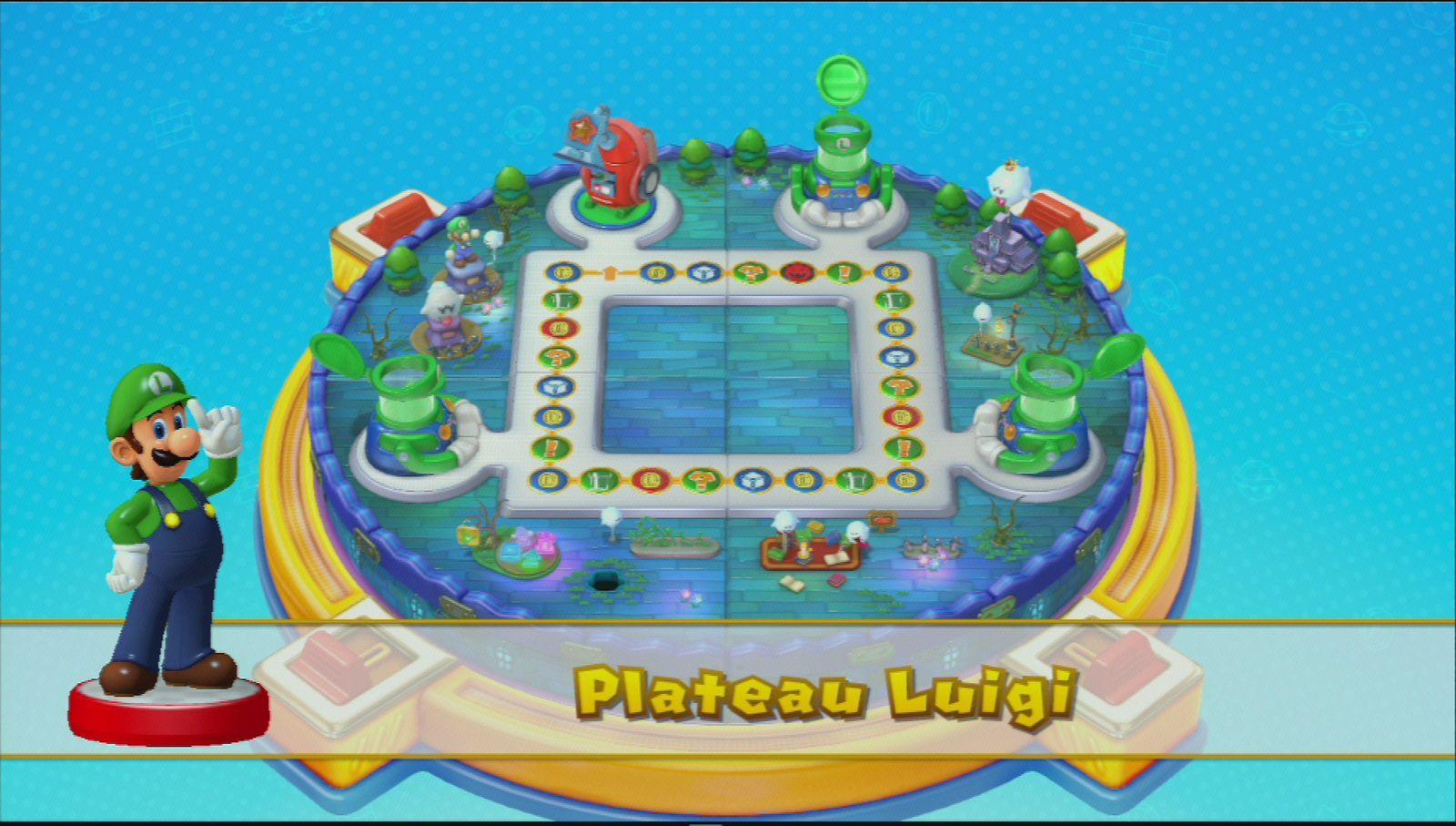 Entry8 Figurine Amiibo Luigi Super Mario Collection