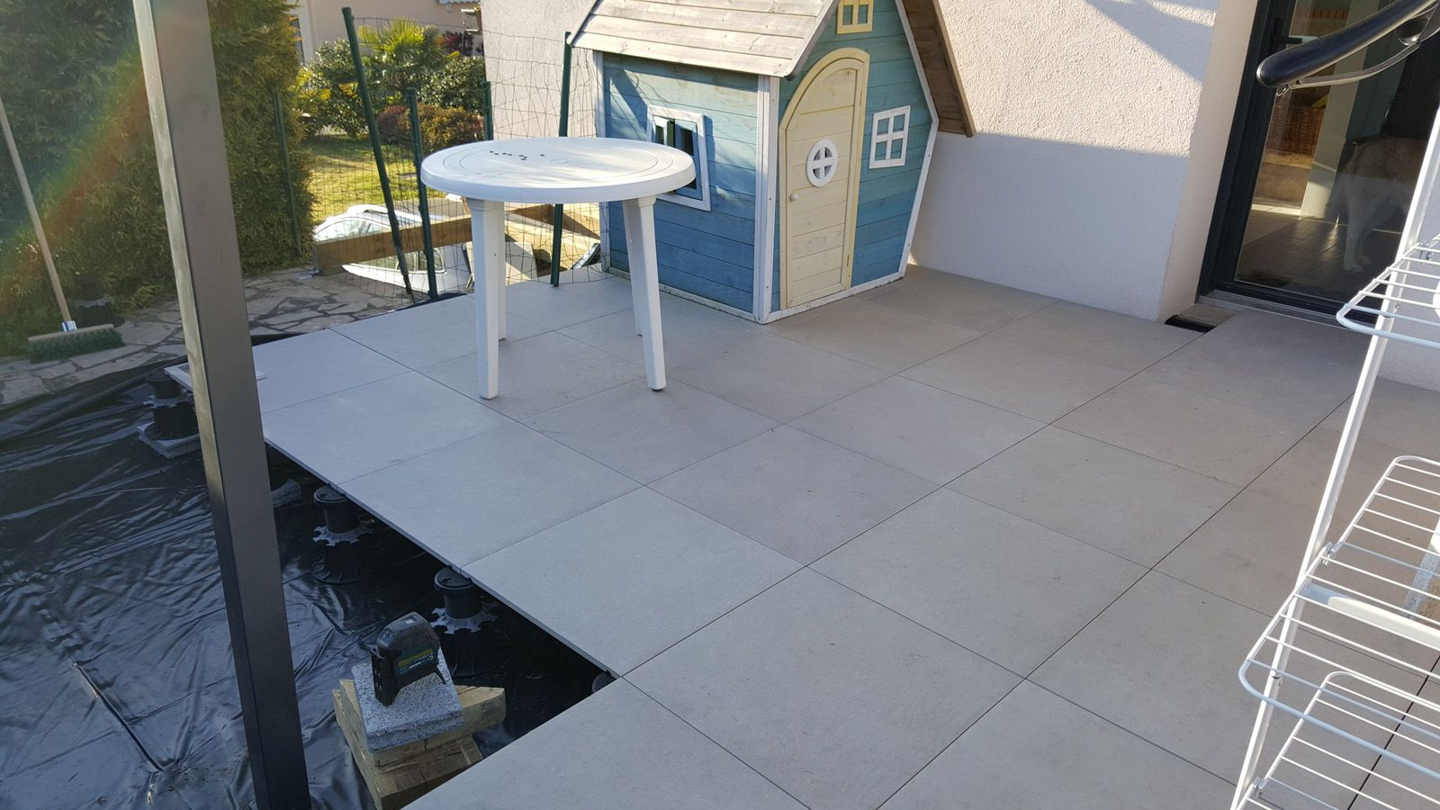 Carrelage Terrasse Oikos Photo De Terrasse En Carrelage Perfect Retirer Les Profils
