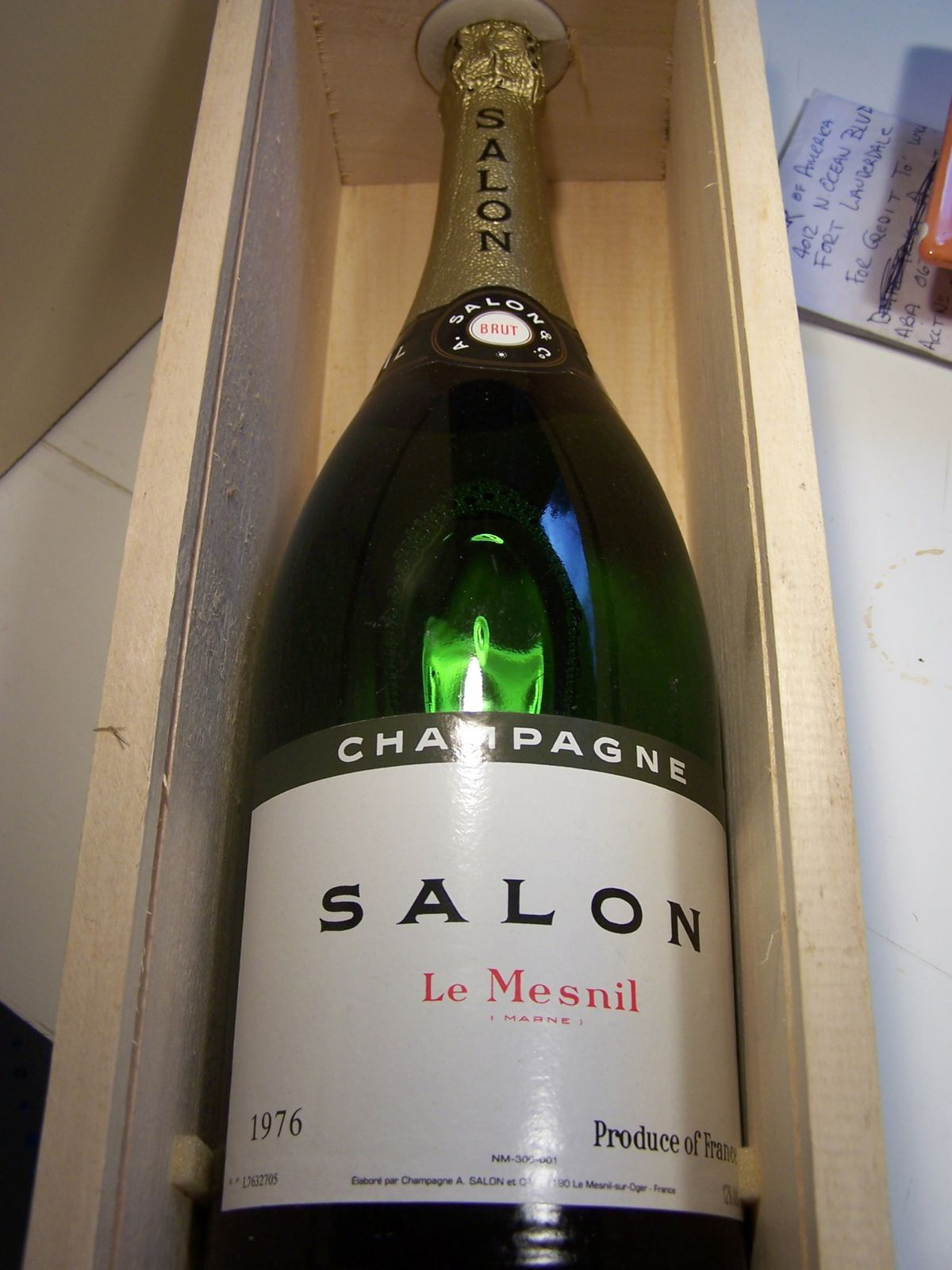 Champagne Salon Champagne Salon Rare Bottles And Mags Wine4investment