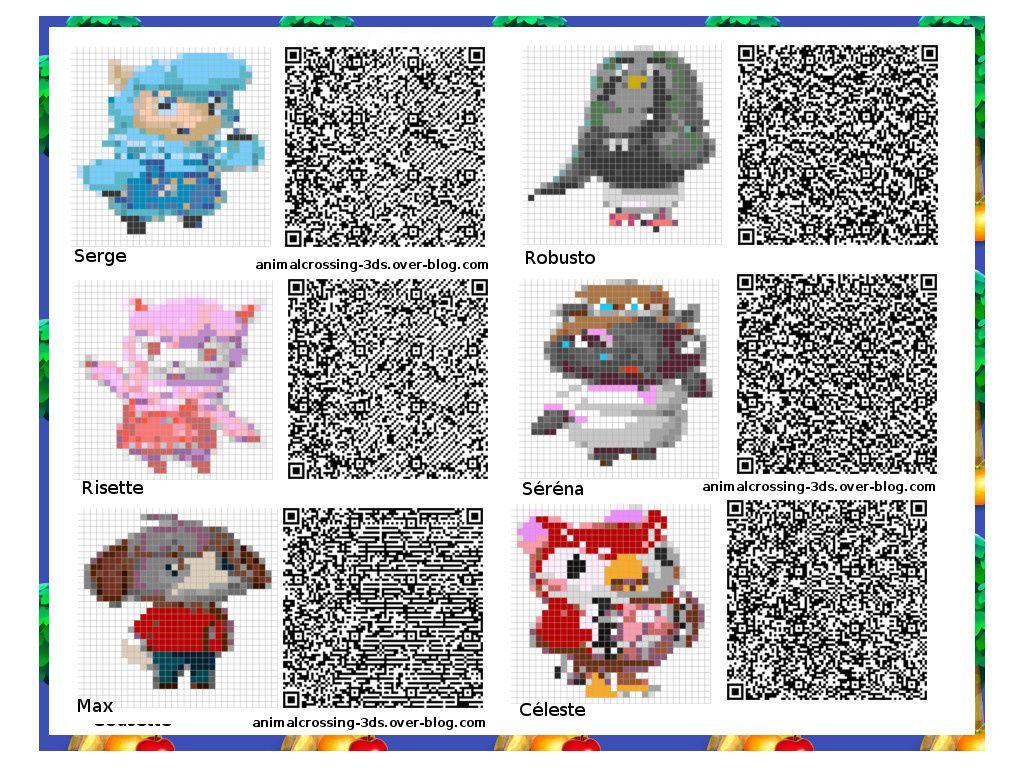 Qr Codes Animal Crossing New Leaf Suelos Hierba Animal Crossing