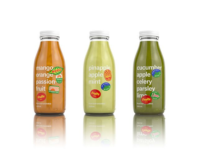 Appareil A Jus De Fruit Raw Fruits : Un Packaging Des Plus Jus-dicieux