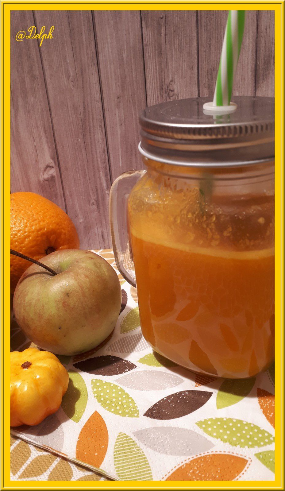 Thermomix Extracteur De Jus Jus De Potimarron Pommes Et Orange Oh La Gourmande