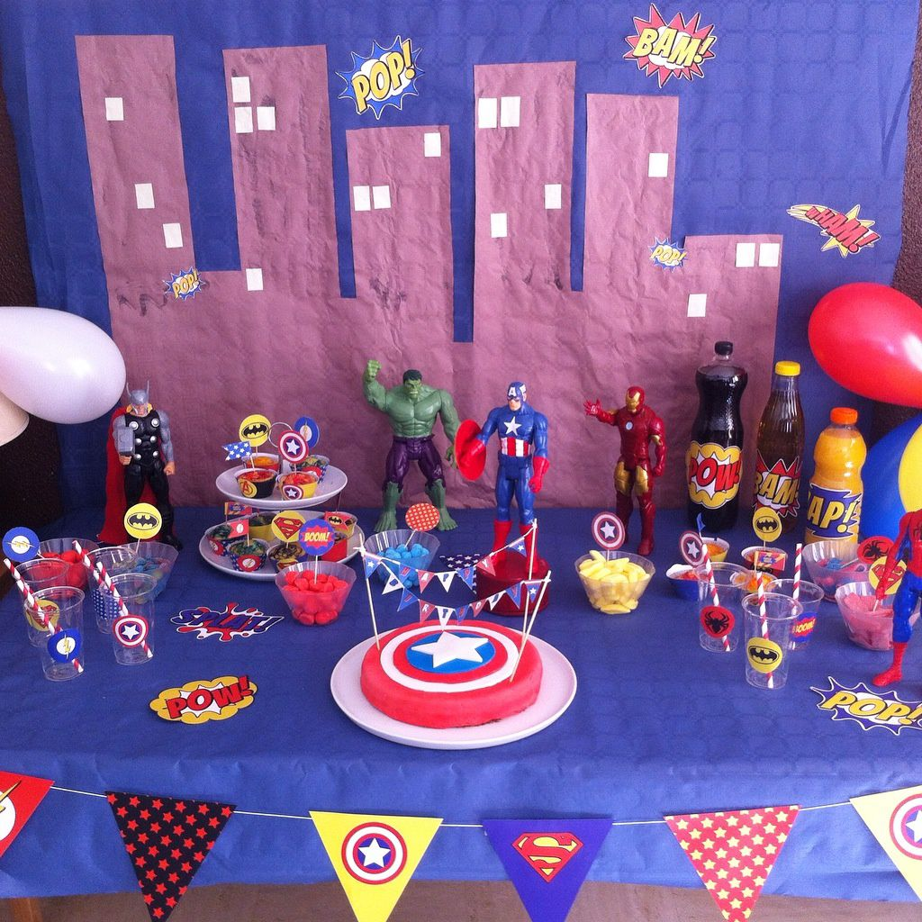 Deco De Table Anniversaire Decoration De Table Anniversaire 5 Ans