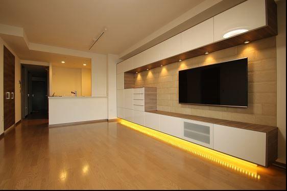 Glamorous Ikea Besta technique San Diego Contemporary Living Room - creer un plan de maison