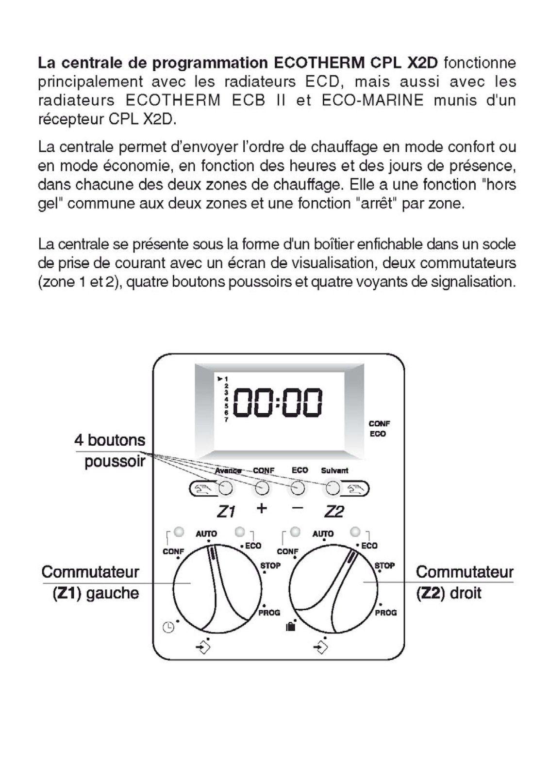 Celcia Notice Branchement Thermostat Programmable Forum Chauffage