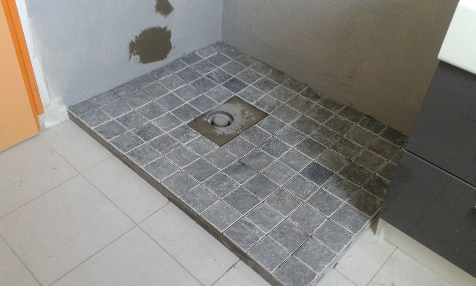 Carrelage Special Douche Italienne Modification D 39une Douche Suite Www