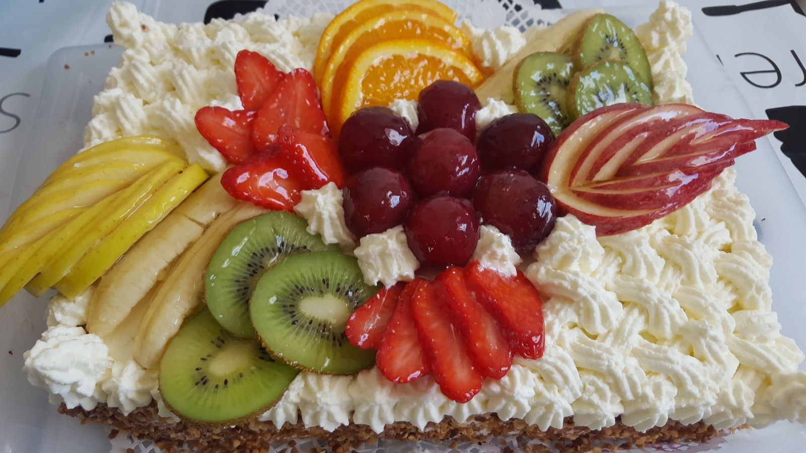 Creme Chantilly Decoration Gateau Gateau Au Fruit Chantilly Les Recettes Populaires Blogue