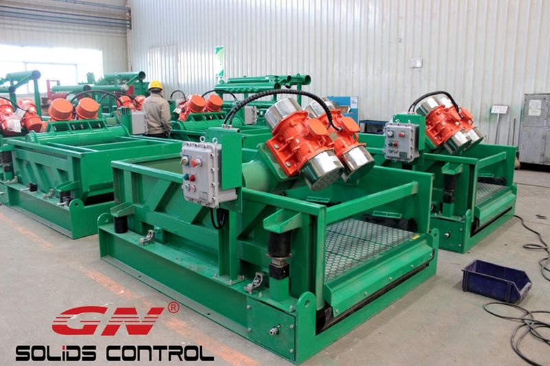 Several solids control equipment released to overseas clients