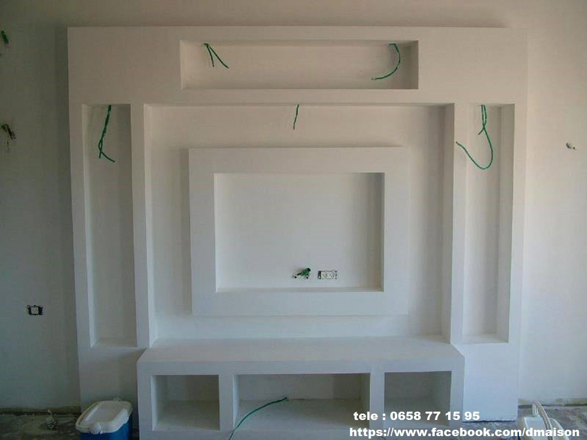 Placoplatre Decoration Plafond Placoplatre Ba13 Travaux Deco