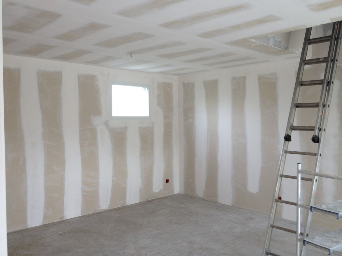 Fissure Mur Interieur Platre Joints Bandes Placo Bearnplaco64