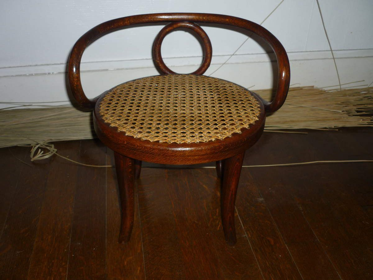 Chaise Cannée Ancienne Chaise Cannée Ancienne Chaise Bistrot Canne Bois Latest Canne