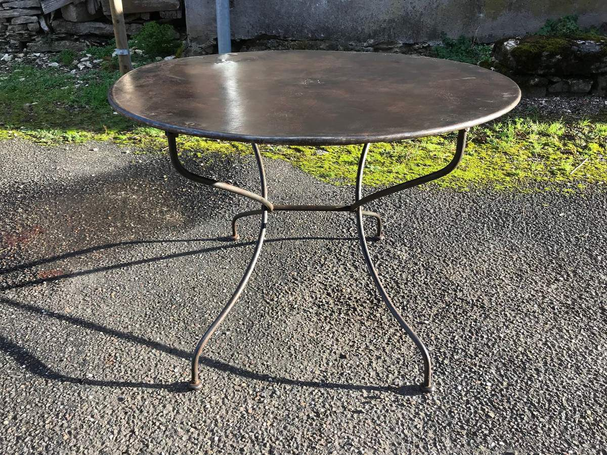 Petite Table Bistrot Table De Bistrot Ronde Stunning Petite Table Bistrot