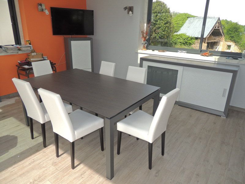 Table Exterieur Rallonge Table Ceramique Julia - Exodia Home Design Tables