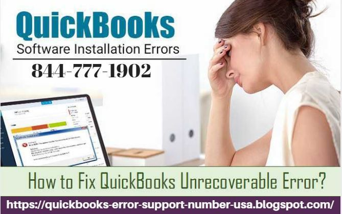 Quickbooks error support phone number Data Service USA LLC - Quickbooks Unrecoverable Error