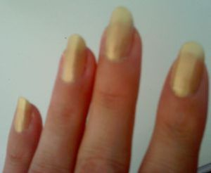 ongles d'or