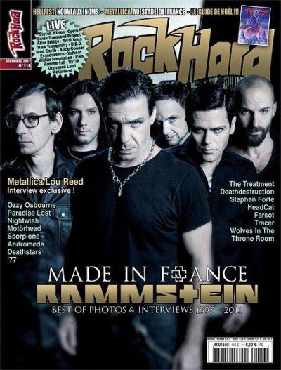 News du 03 Décembre 2011 ! Rock Hard numéro 116 ! - Metal-Head 666