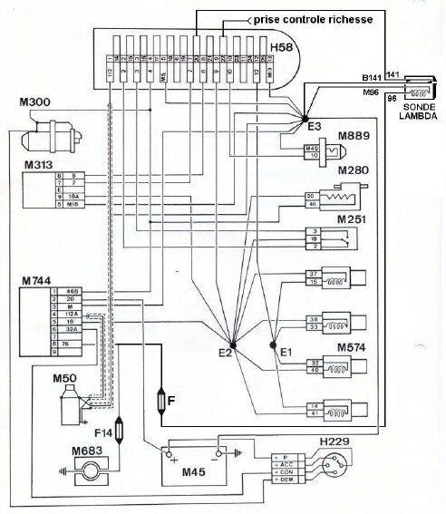 daewoo schema cablage d un moteur