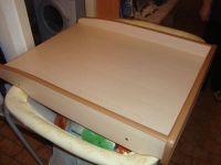 Table  langer en bois, pour pose sur lit, machine  ...