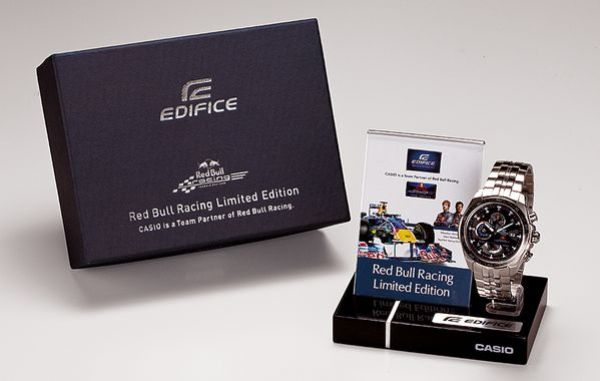 Casio-Edifice Red-Bull