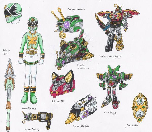 Power Rangers 3d Wallpaper Niji No Senshi Gosei Green Henshin Super Legends